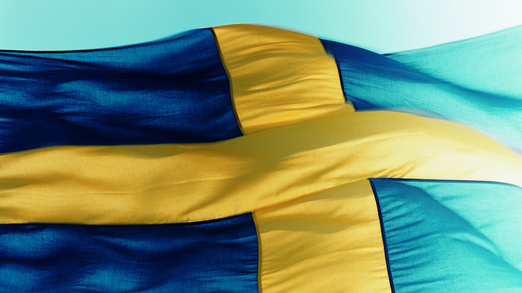Swedish flag. Image.