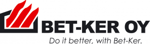 BET-KER OY. Logotype.